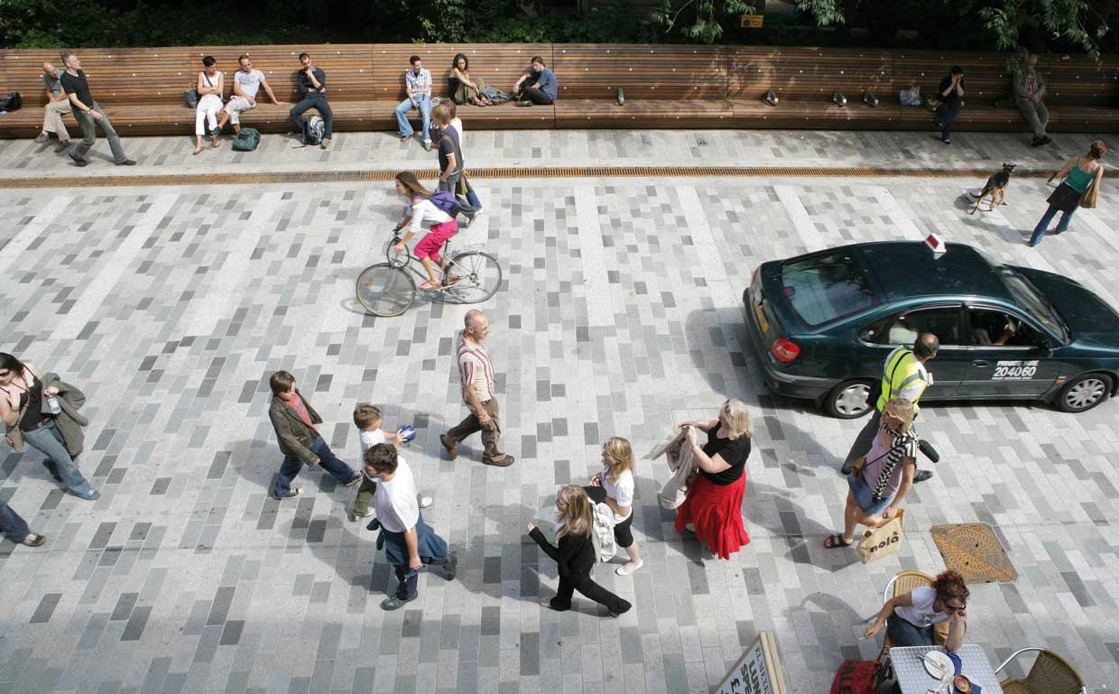 Pedestrianization of New Road in Brighton \u2013 Gehl