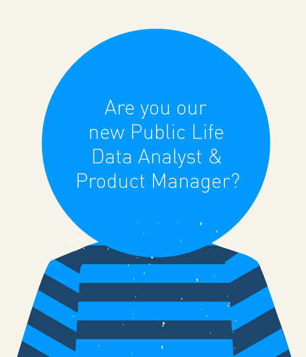 Wanted! Public Life Data Analyst & Product Manager - Gehl